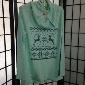 No Boundaries Soft Cowl Neck Sweater, L (11-13)